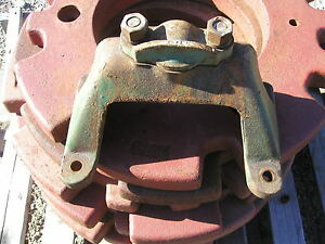 Oliver 88 Standard Tractor Original Front Main Axle Mounting Brace Bracket