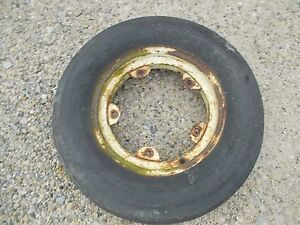 Oliver 77 88 Tractor Rim Good 6 00x 16 3rib Armstrong Tire