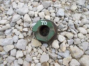 Oliver 70 Rowcrop Tractor Special Nut Bolt For Crankshaft Crank To Start By Hand