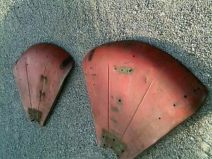Oliver 77 88 Rowcrop Tractor Orignl Set Pair Clamshell Fenders