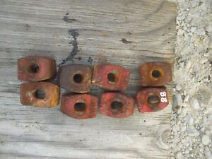 Oliver 88 Rowcrop Tractor 8 Rear Wheel To Hub Buckle Lock Bracket