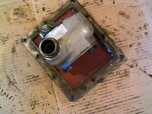 Farmall 504 Utility Tractor Ihc Cessna Good Working Hydraulic Pump Cover