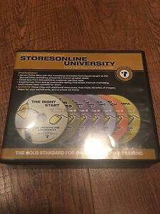 Storesonline University Dvd Instructional Course For Internet Marketing 7 Dvds