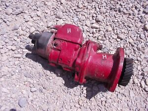 Farmall H M Ih Tractor Engine Motor Magneto W Drive Assembly