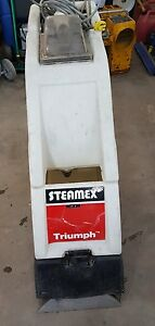 Steamex Triumph 1000 Carpet Cleaner Extractor Windsor Tennant Clark Nobles