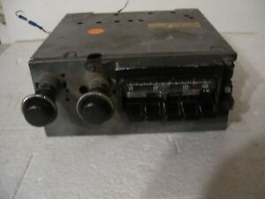 1971 72 73 74 Dodge Charger Road Runner Mopar B Body Am Fm Stereo Radio Working