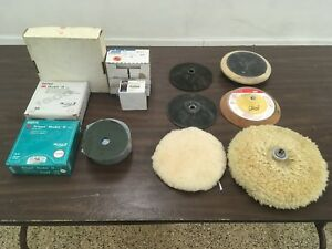 Sanding Disc Auto Body Collision Repair Sanding Paper And Pads Lot