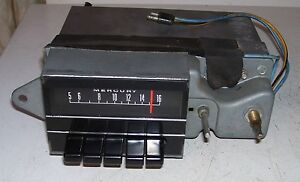 69 70 Mercury Radio Good Working 1969 1970