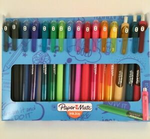 Paper Mate Inkjoy Gel Pens 0 7 Capped Rt 16 Pk limited Edition New Colors