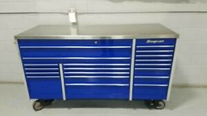 Snap On Krl7023 Pcm Master Series Toolbox Stainless Top Royal Blue
