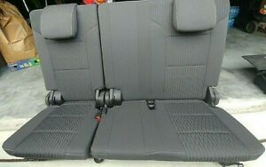 2015 19 Chevrolet Tahoe 3rd Row Bench Seat With Cargo Trunk Floor Compartment