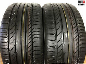 Continental Contisportcontact 5 P275 40r19 275 40 19 New Tire