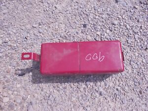 Ford 900 501 600 700 800 2000 4000 Series Tractor Tool Box W Lid