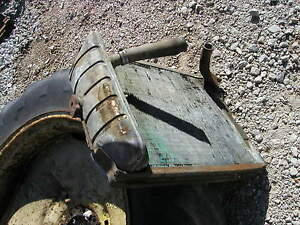 Ford 4000 Tractor Original Radiator Assembly Worked When On Tractor