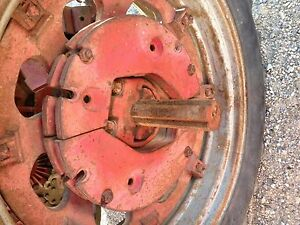 Farmall 460 504 544 560 706 806 Tractor Orgnl Ih Rear Split Whole 145lb Weights
