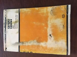 Case 450 Crawler Bulldozer Operators Manual