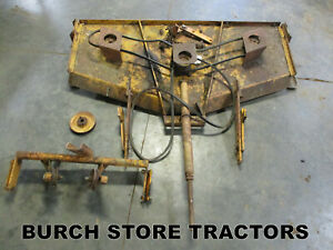 Woods L59 Belly Mower Deck For Farmall Cub Tractors With Mule Drive