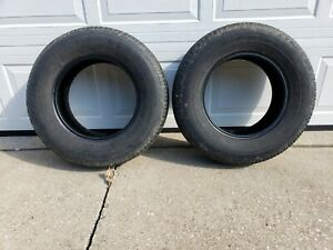 Two Used 215 75 15 Tires