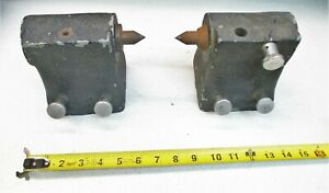 Jones Lamson Pair Of Centers For Optical Comparator