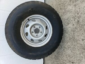 31 10 50 15 Tire Mounted On S10 4 Wheel Drive Rim