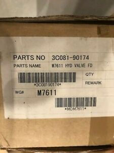 Kubota 3c081 90174 M7611 Hydraulic Vavle Kit Float Detent Oem Part New