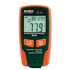 Extech Rht20 Humidity Temperature Datalogger 16 000 Readings