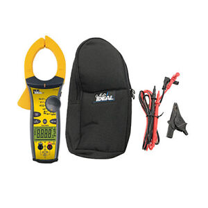 Ideal Electrical 61 775 Trms Ac dc Clamp Meter 1000aac dc W tightsight