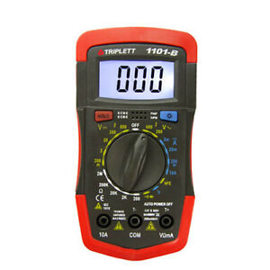 Triplett 1101 b 1101 Compact Digital Multimeter W Backlit Display
