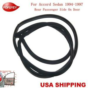Door Weatherstrip Moulding Seal Weather Strip Rr Right For Accord Sedan 1994 97
