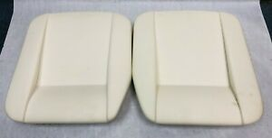 Jaguar Xke E type S1 s2 6 cyl Only Bottom Cushion Seat Pads Pair