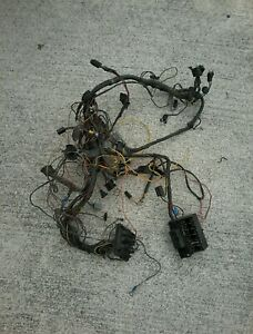 1968 1969 Charger Ralley Dash Wiring Harness W Fuse Block For Parts Only