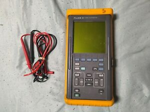 Fluke 93 50mhz Scopemeter With Test Leads Fully Tested