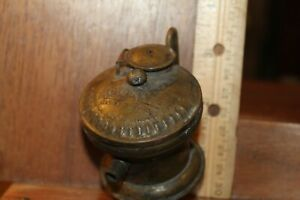 Antique Brass 1920 S Carbide Miner S Lamp Auto Lite As Is For Parts Or Repair