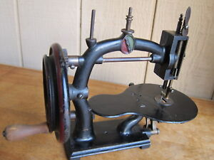 Circa 1875 Universal Hand Crank Sewing Machine American Antique