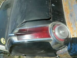 1965 65 Plymouth Barracuda Valiant A Body Used Lh Tail Light Assembly