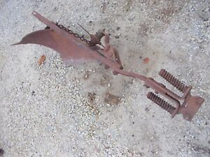 Farmall Ih Cub Tractor 1 Bottom Plow Ihc Good Plow Ready To Use Rolling Cut