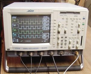 Lecroy Lc334a 4 Channel 500 Mhz Digital Oscilloscope