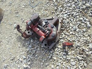 Farmall M Early Sm Tractor Ih Hydraulic Belly Pump W Bottom Cover Plate