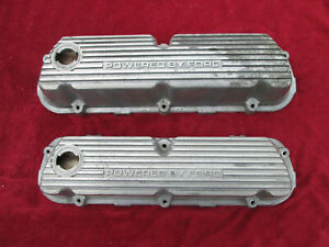 Sbf 289 302 351 Windsor V8 Powered By Ford Aluminum Finned Valve Cover