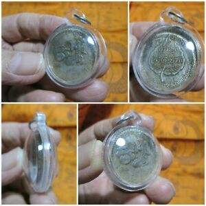 Silver Coin 1956 Nang Kwak Money In Case Waterproof Thai Amulet Pendant K66 11