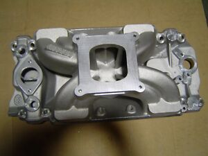 Bmp World Products 063030 Intake Manifold Bbc 4150 Carb 9 8 Deck Ht Brand New