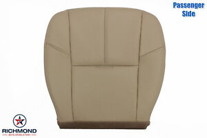 2007 2008 2009 Gmc Yukon Denali Xl passenger Side Bottom Leather Seat Cover Tan