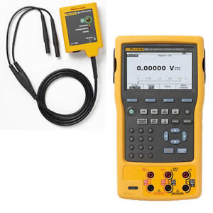 Fluke 753 154 Bu Documenting Process Calibrator With Hart Combo Kit