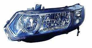 For 2010 2011 Honda Civic Coupe Headlight Headlamp Driver Side Capa Certified