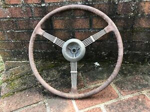 1936 1937 1938 Cadillac Lasalle Banjo Steering Wheel Chevy Gm Packard Ford 1939