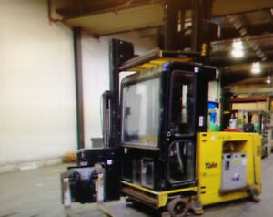 Yale Forklift Order Picker Narrow Aisle Man Up Turret Truck Electric With Cab