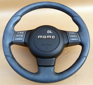 Mitsubishi Lancer Evo7 Evo10 Super Rare Momo Steering Wheel Oem Jdm Used