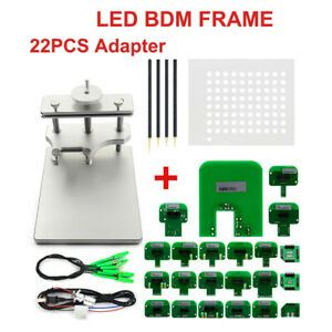 Stainless Steel Led Bdm Frame For Kess Ktag Galletto 22 Ktm Dimsport Adapters