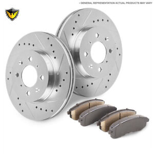 For Ford Focus Svt 2002 2003 2004 Front Brake Pads And Rotors Kit