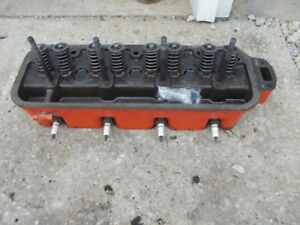 Allis Chalmers C B Tractor Engine Ac Motor Cylinder Head Valves W Springs Kk
